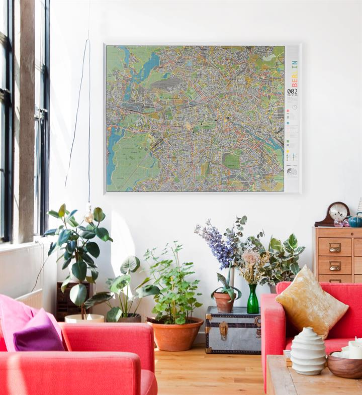 berlin_map_poster_framed