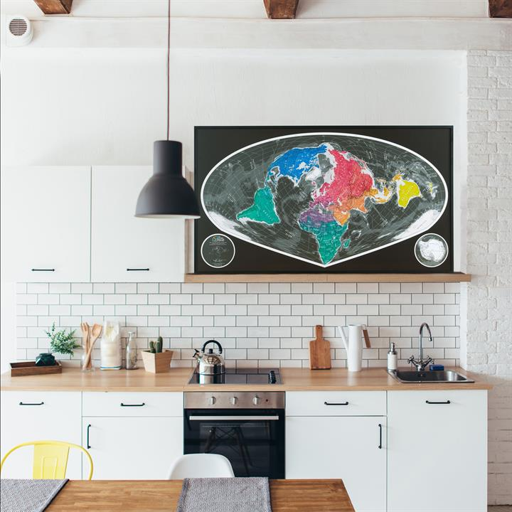 framed_world_map_sinu-mollweide_kitchen