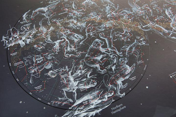 Star Map Illustrated