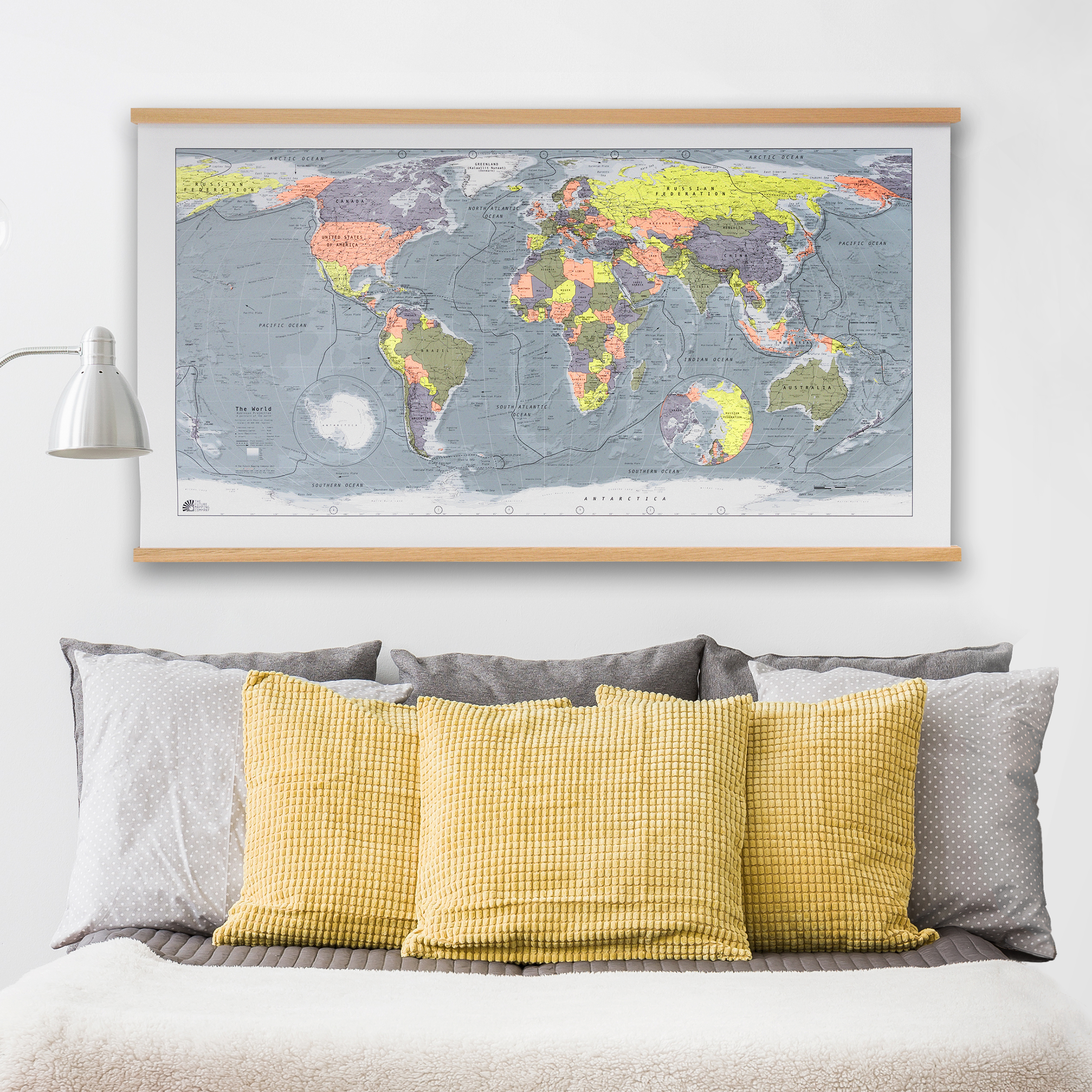 Classic World Map