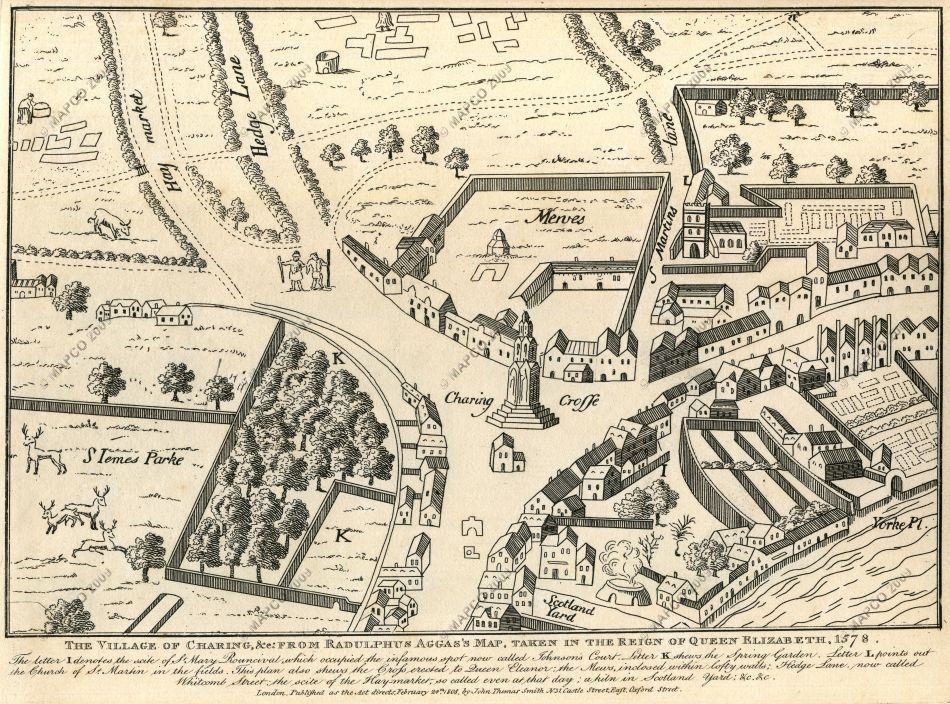 Maps Of London Through History The Future Mapping Company