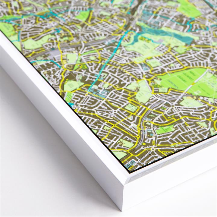 framed_london_map