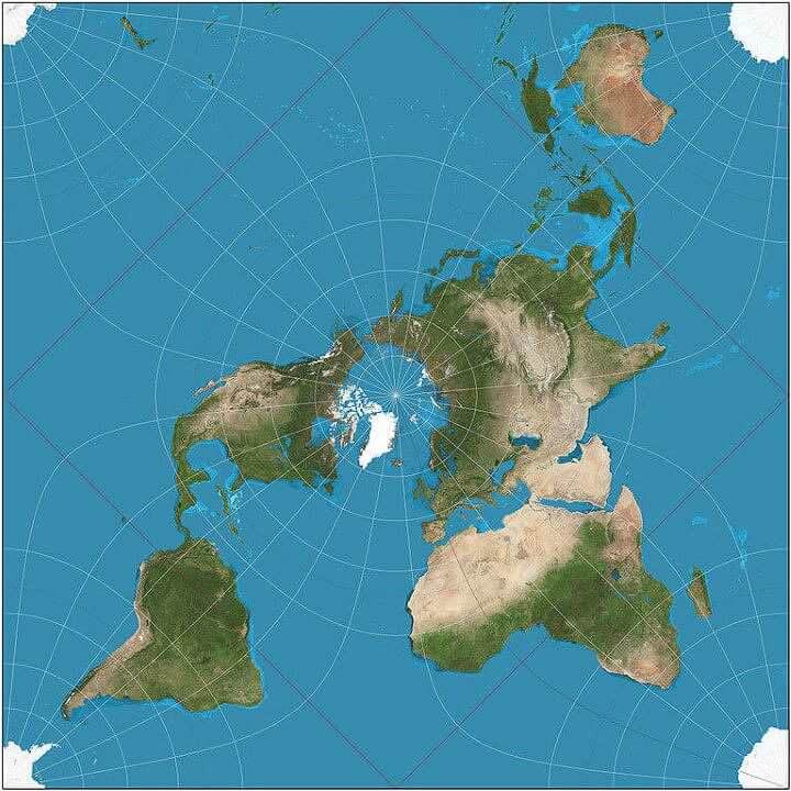 Top 10 World Map Projections | The Future Mapping Company