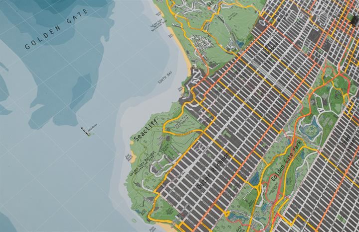 san_francisco_city_wall_map_V2_CU5