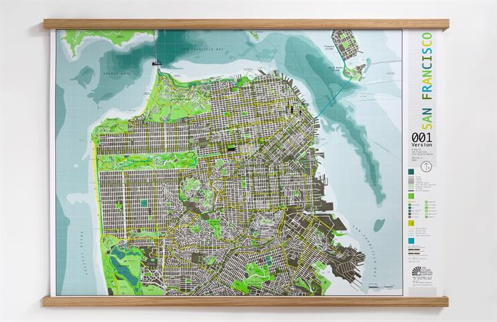 san_francisco_city_wall_map_V1_RFO