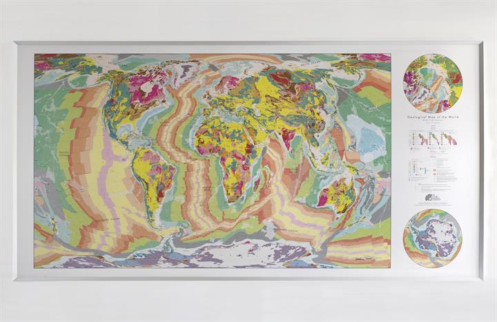 The future mapping company world geological wall maps hugegeoframefull gumiabroncs Images