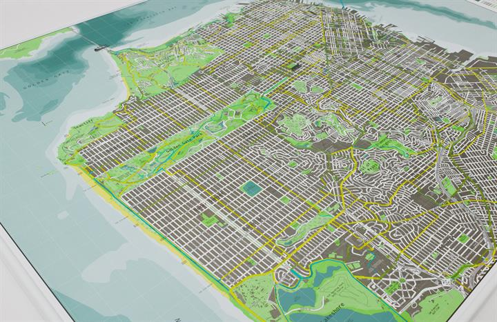 san_francisco_city_wall_map_V1_CU1