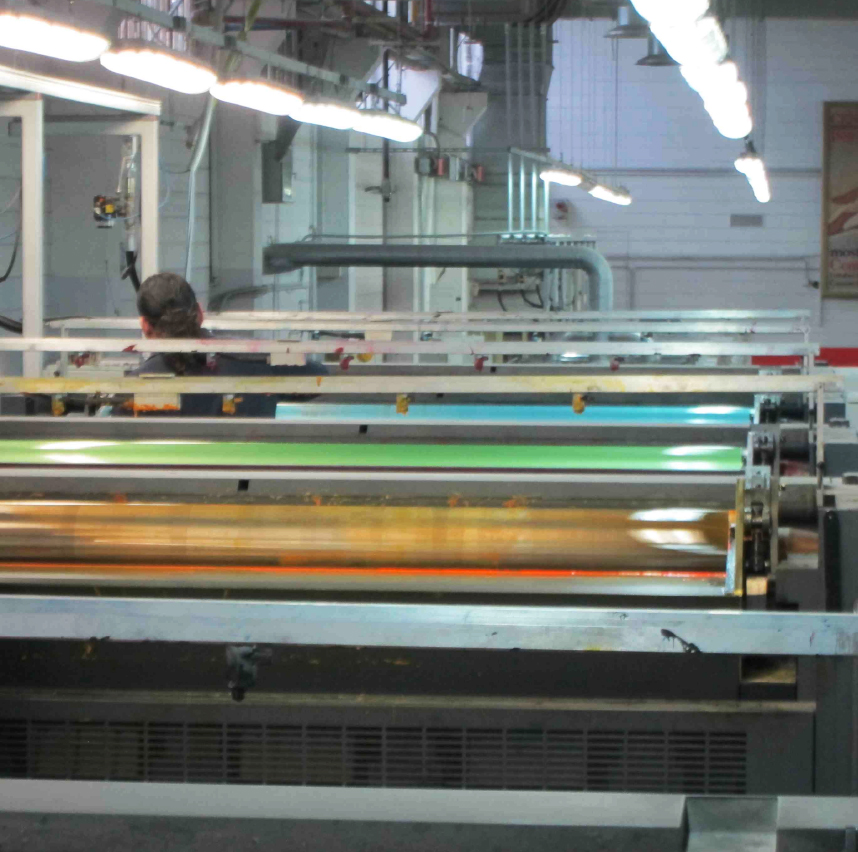 Printing Rollers Colour