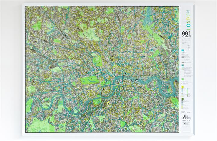 The Future Mapping Company City Wall Maps