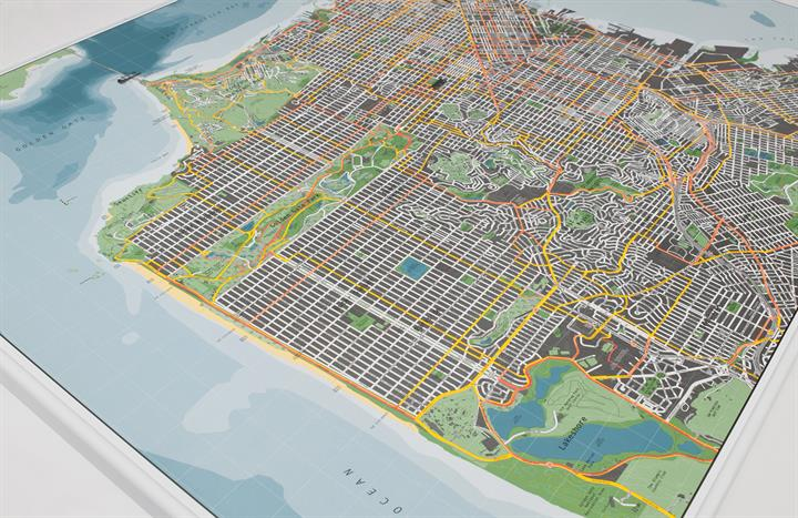 san_francisco_city_wall_map_V2_CU1