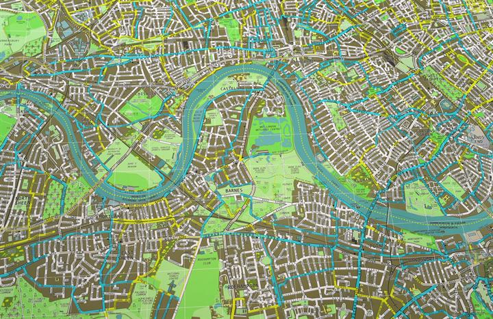 The Future Mapping Pany London City Wall Map 1: London City Map At Infoasik.co