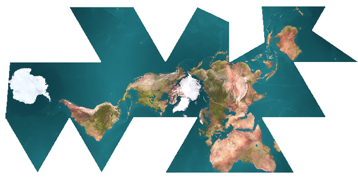 dymaxion_projection