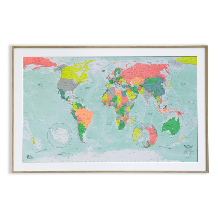 winkeltripel_worldmap_oak_frame