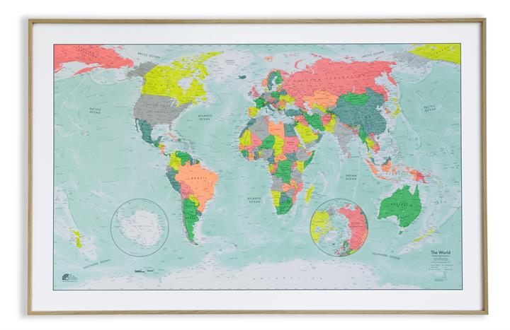 World Wall Maps | The Future Mapping Company