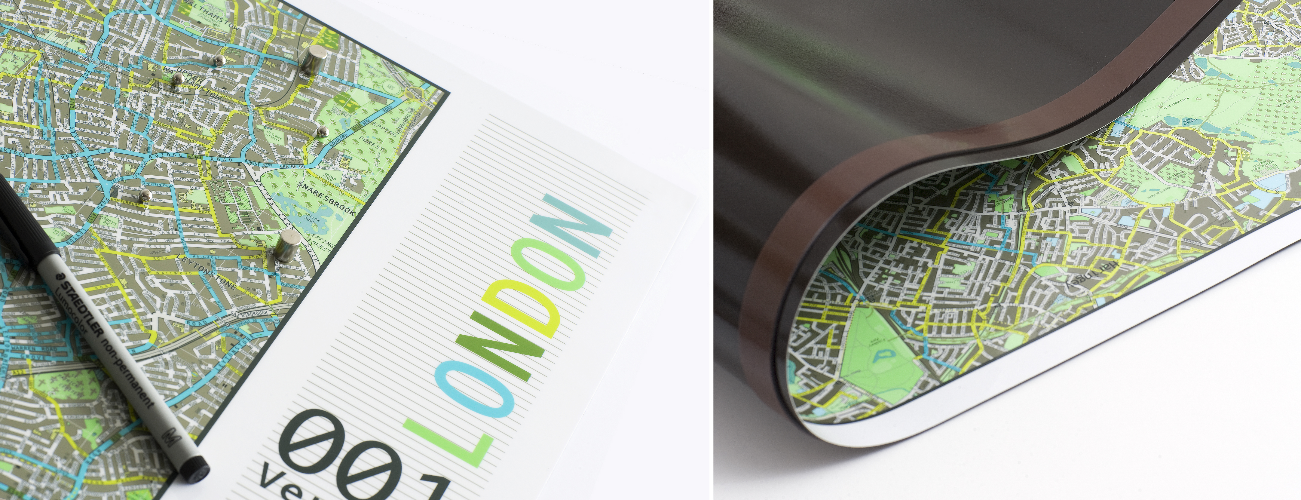 The Future Mapping Company Magnetic Wall Maps