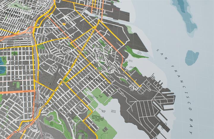 san_francisco_city_wall_map_V2_CU4